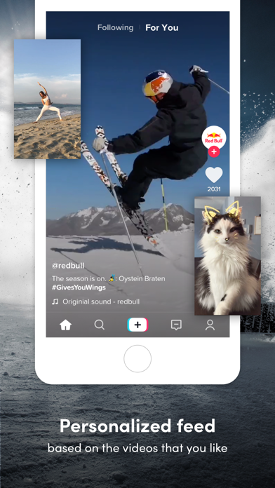 Screenshot for TikTok - Real Short Videos in Czech Republic App Store
