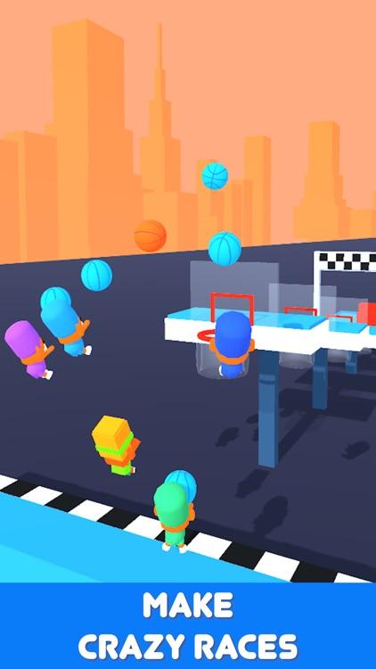 Basket Race 3D screenshot-0