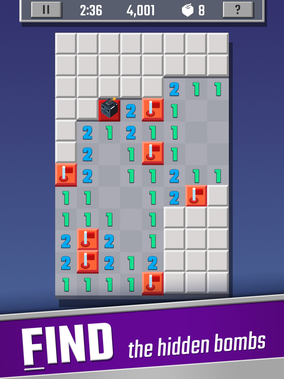 Sweeper Cube: A Classic Puzzle screenshot 7