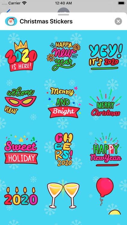 Christmas Stickers * screenshot-5