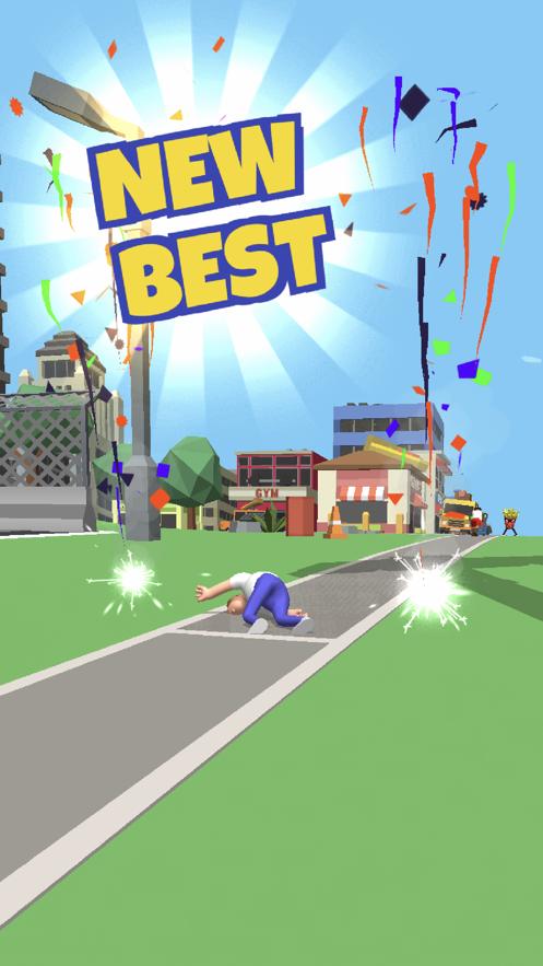 《自行车跳跃》成为疯狂的BMX车手! App 截图