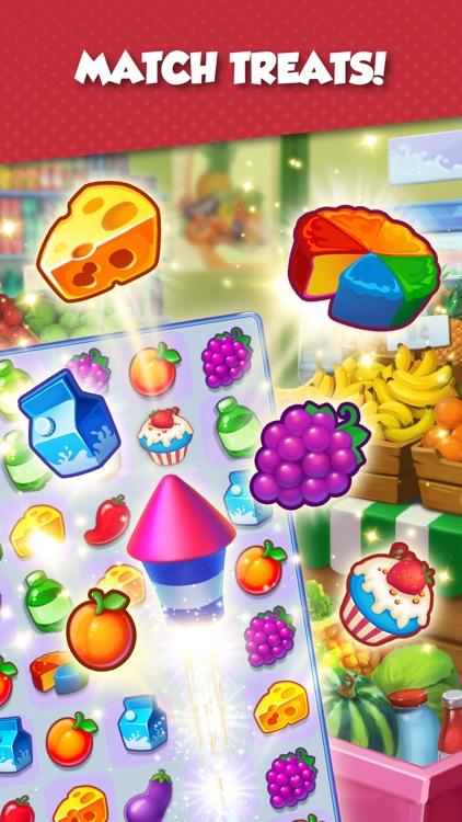 Supermarket Mania - Match 3 screenshot-0