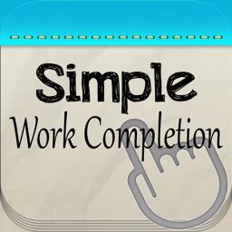 Simple Work Completion Cert