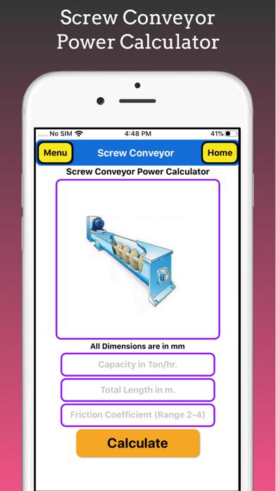 Screw Conveyor Pro screenshot 4