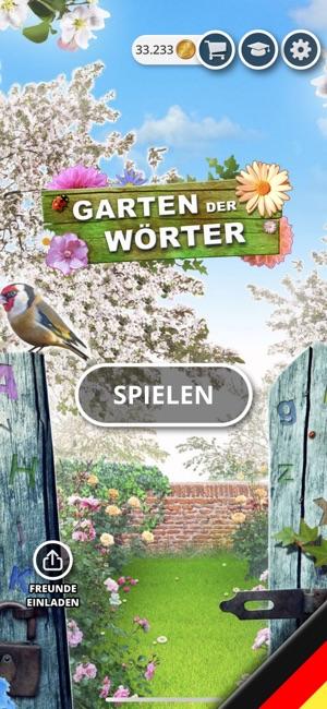 Garten Der Wörter Wortspiel Im App Store
