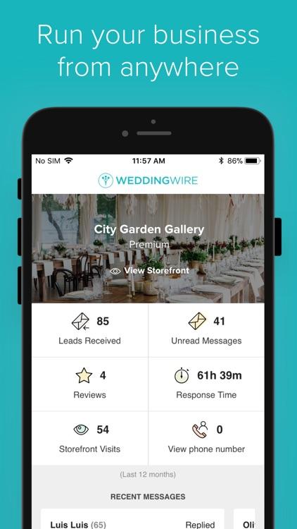 WeddingWire for Pros