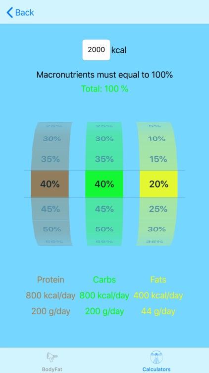 Calculate My Body screenshot-4