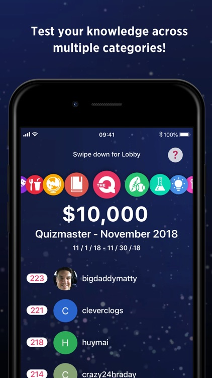 The Q - Live Game Network screenshot-4