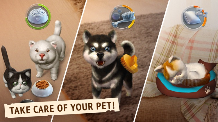 Pets ARound - Virtual Friend screenshot-3