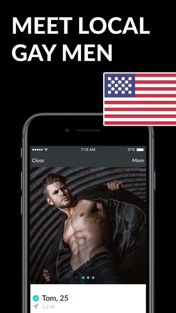Beste gay dating app voor de iPhone