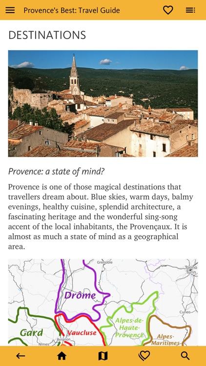 Provence's Best: Travel Guide screenshot-5