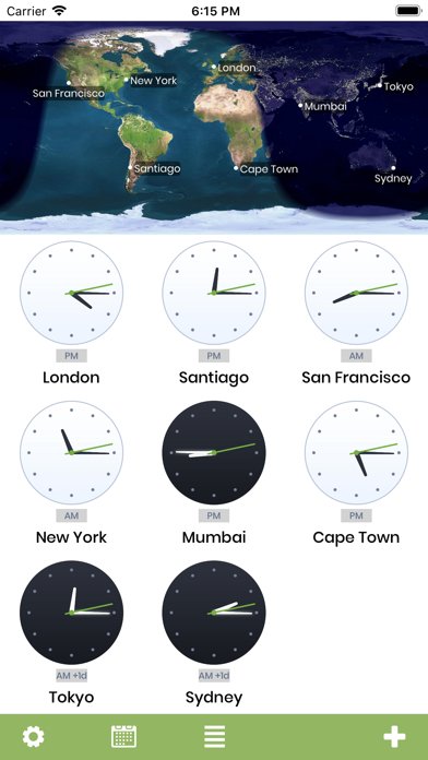 World Clock X Screenshots