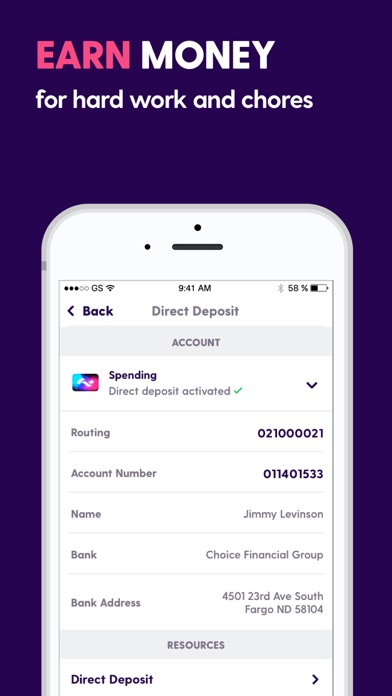 Screenshot for Current - A better bank in United States App Store