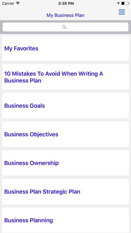 Business Plan(BP) screenshot-4
