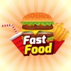Fast Food Sticker for iMessage