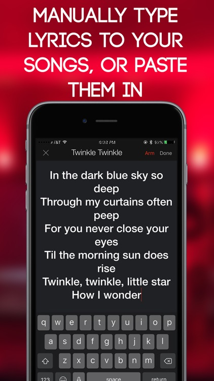 Lyric Scroller screenshot-1