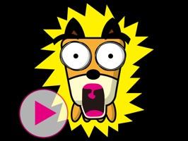 TF-Dog Animation 6 Stickers
