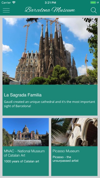 Barcelona Museums and sights