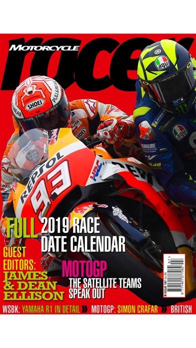 Motorcycle Racer Magazine screenshot 1