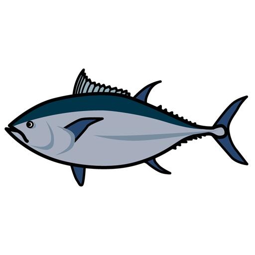 お魚さんのステッカー