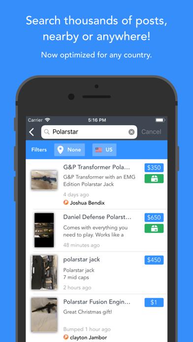 HopUp- Airsoft Community Screenshot