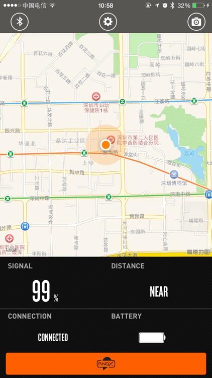 FindX Tracker