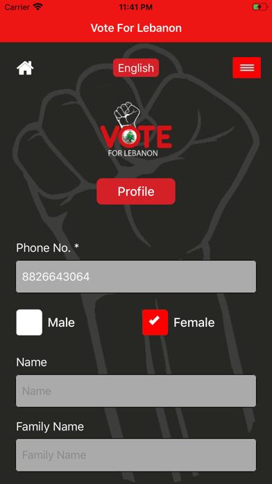 Vote For Lebanon screenshot 2