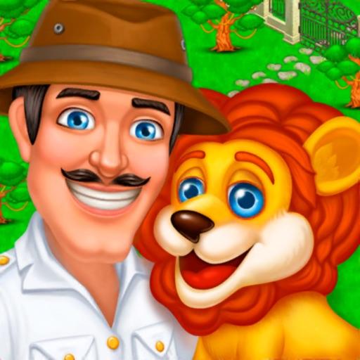 Спасение зоопарка: Три в ряд