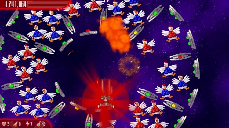 Chicken Invaders 4 Xmas screenshot-4