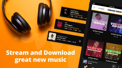 Screenshot for Audiomack: Download New Music in Chile App Store