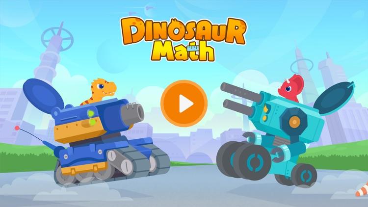 Dinosaur Math - Learning Games screenshot-0