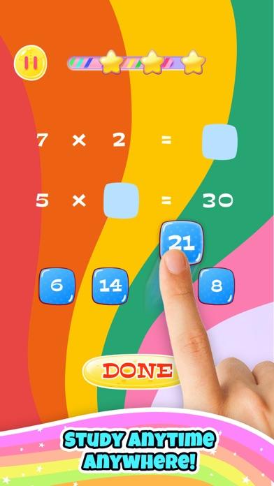 Unicorn Math: Fun Girl Games Screenshot on iOS