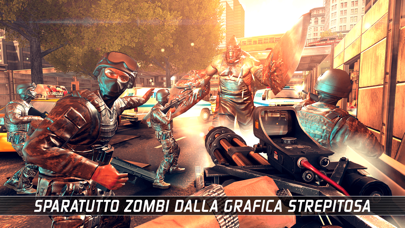 Screenshot of UNKILLED - Zombie Sparatutto1