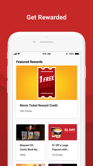 Cinemark Theatres by Cinemark USA (iOS, United States) - SearchMan