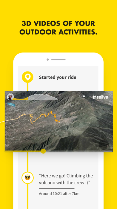 Relive: Run, Ride, Hike & more screenshot