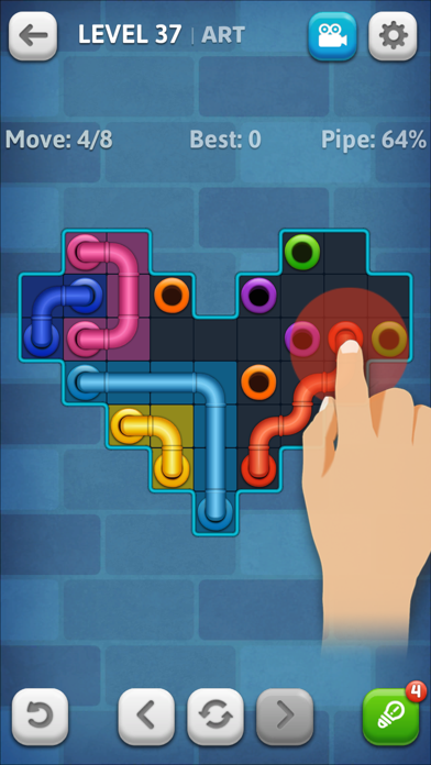 Download Line Puzzle: Pipe Art for Pc