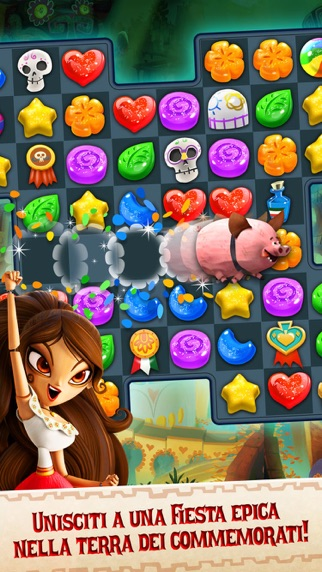 Screenshot of Sugar Smash: Book of Life2