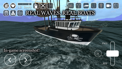 uCaptain: Boat Fishing Game 3Dのおすすめ画像2