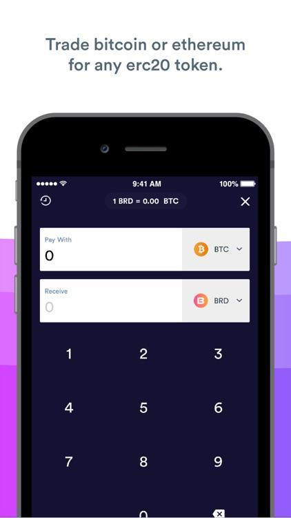 BRD Bitcoin Wallet, Ethereum screenshot-4