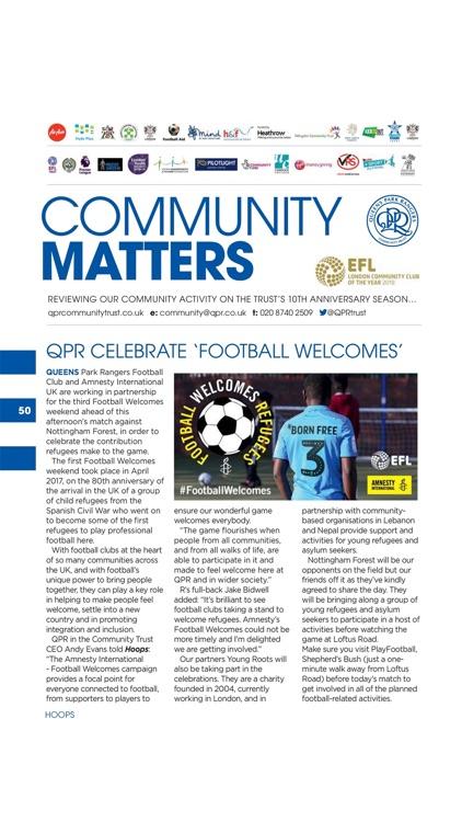 Hoops – QPR Official Programme screenshot-6