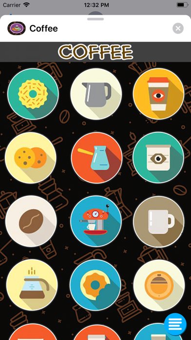 Screenshot for Coffe StickerPack in United States App Store