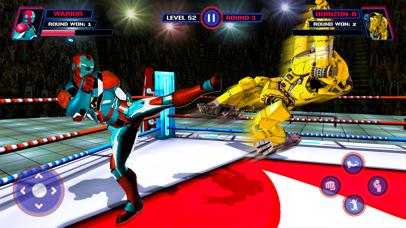 Robot Fight Ring VS Heros screenshot 1
