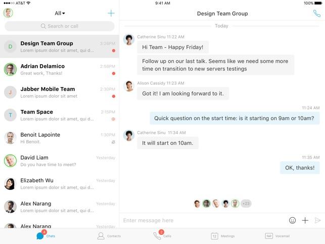 Cisco Jabber on the App Store