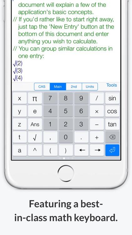 Mathematics with PocketCAS Pro screenshot-3