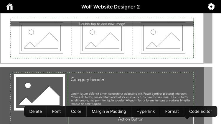 Wolf 2 - Responsive Designer screenshot-6