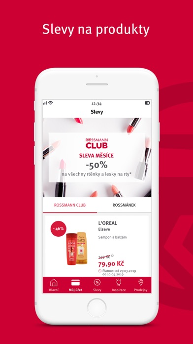 Screenshot for ROSSMANN CLUB in Canada App Store