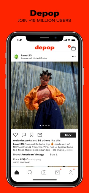 Depop - Buy and sell fashion on the App Store