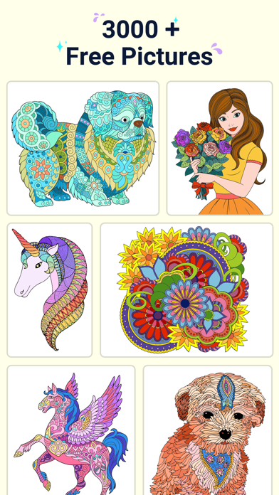 Star Coloring Pages by Number screenshot 4