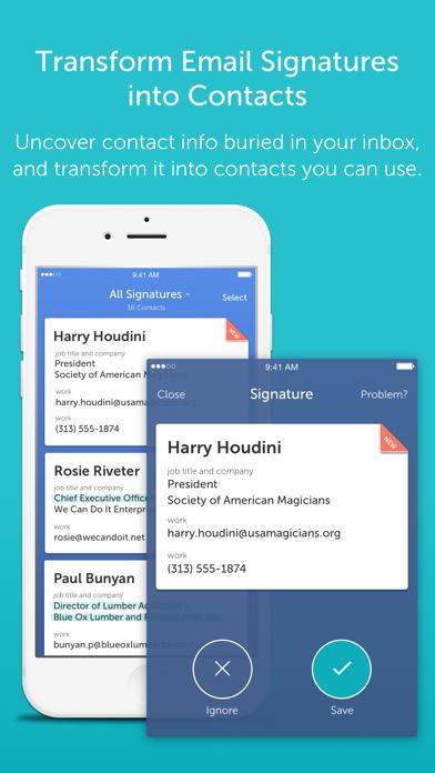 CircleBack - Contact Manager/Address Book Updater screenshot