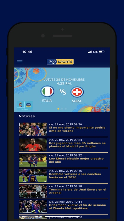 Tigo Sports Guatemala screenshot-0